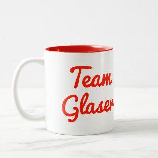 Team Glaser Two-Tone Coffee Mug