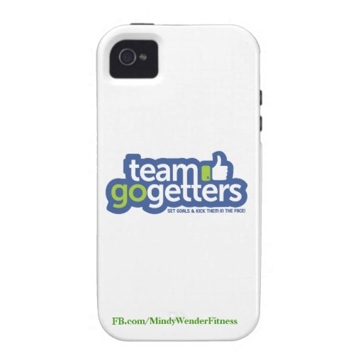 Team Go Getters iPhone 4 case