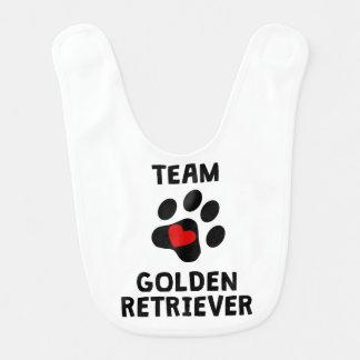 Team Golden Retriever Bib