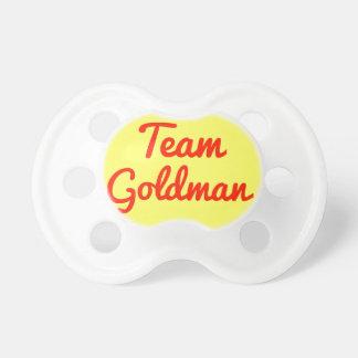 Team Goldman Pacifier