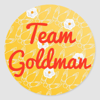 Team Goldman Stickers