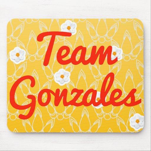 Team Gonzales Mousepads