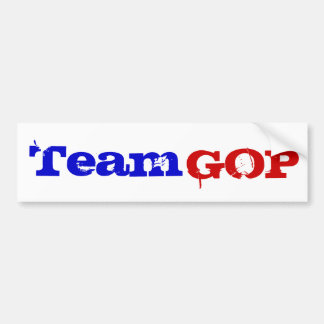 Team GOP Car Bumper Sticker