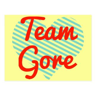 Team Gore Postcard