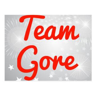 Team Gore Postcards