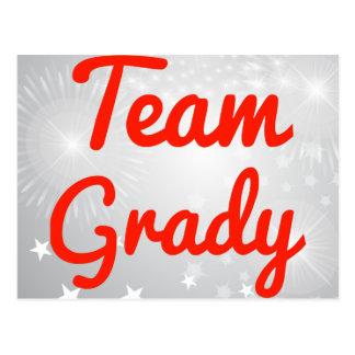 Team Grady Post Cards