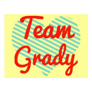 Team Grady Postcard