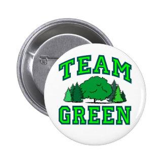 Team Green III 2 Inch Round Button