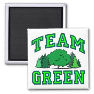 Team Green III Magnet