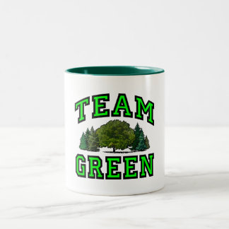 Team Green IV Two-Tone Coffee Mug