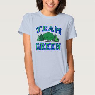 Team Green Shirt
