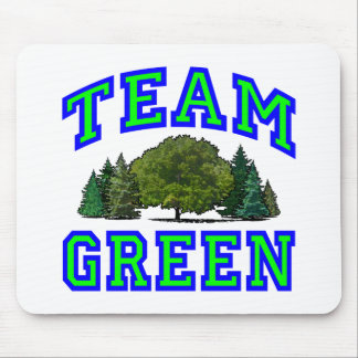 Team Green V Mouse Pad