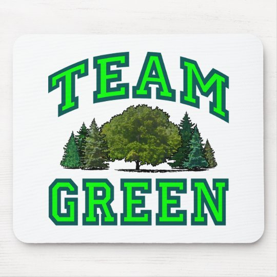 Team Green VI Mouse Pad