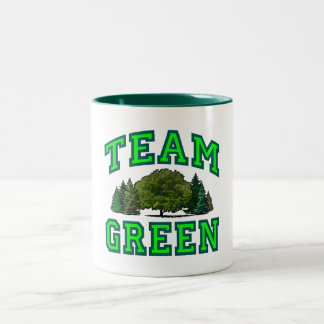 Team Green VI Two-Tone Coffee Mug