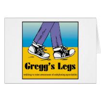 Team Gregg's Legs Card
