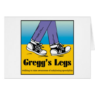 Team Gregg's Legs Card