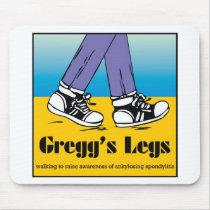 Team Gregg's Legs Mouse Pad