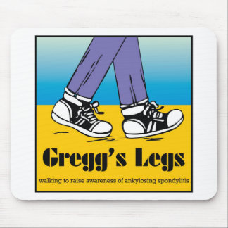 Team Gregg's Legs Mouse Pad