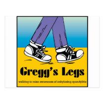 Team Gregg's Legs Postcard