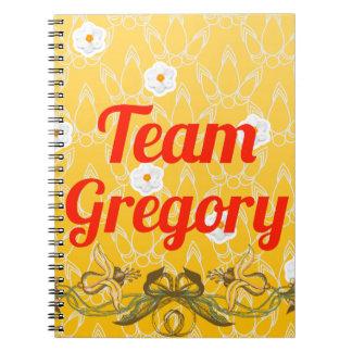 Team Gregory Spiral Notebook