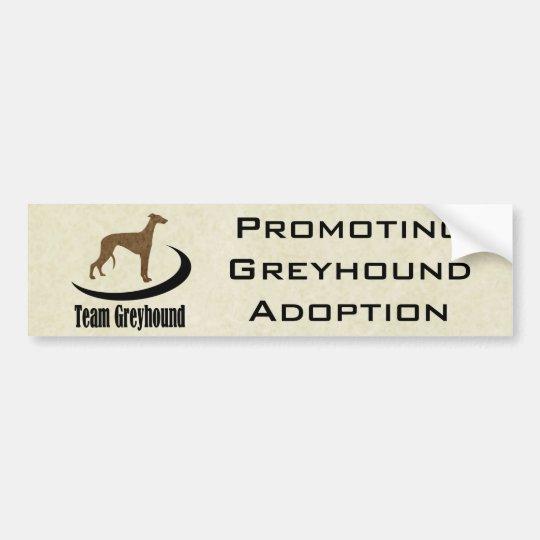 Team Greyhound Customizable Bumper Sticker