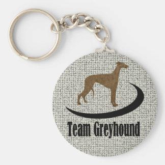 Team Greyhound Keychains