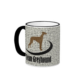 Team Greyhound Ringer Coffee Mug