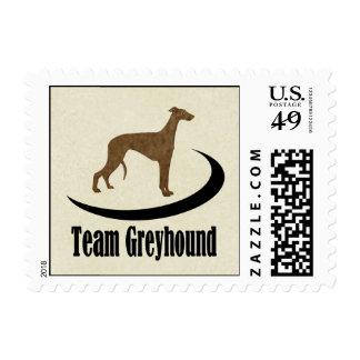 Team Greyhound Stamp