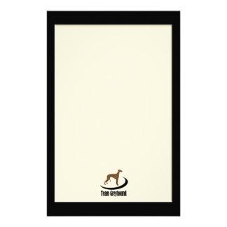 Team Greyhound Custom Stationery