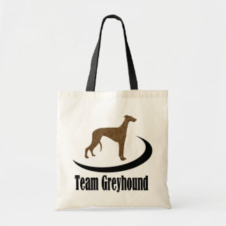 Team Greyhound Tote Bag
