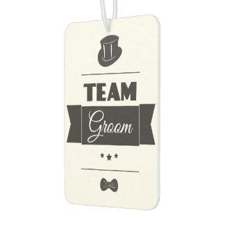 Team groom air freshener