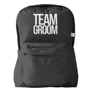 Team Groom bachelor party Backpack