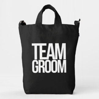 Team Groom bachelor party Duck Bag