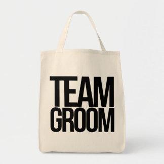 Team Groom bachelor party Tote Bag
