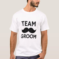 Team Groom Bachelor Party Tshirt