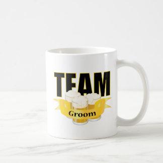 Team Groom - Beer Coffee Mugs