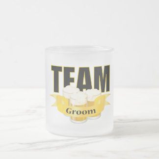 Team Groom - Beer Mugs