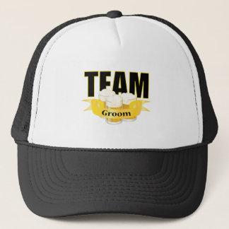 Team Groom - Beer Trucker Hat