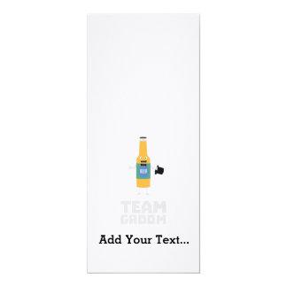 Team Groom Beerbottle Zu77s Card