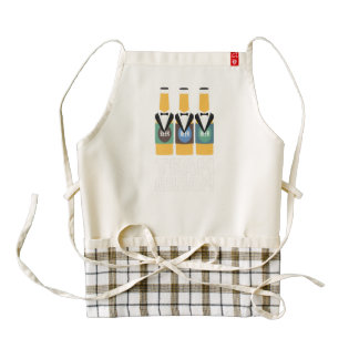 Team Groom Beerbottles Zqf18 Zazzle HEART Apron