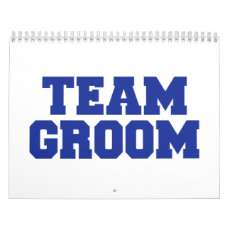 Team Groom Calendar
