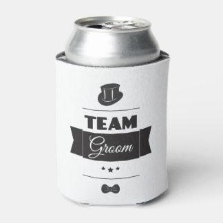 Team groom can cooler