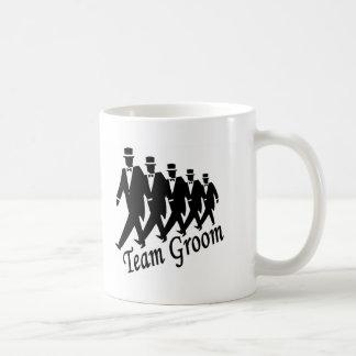 Team Groom Coffee Mugs