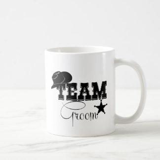 Team Groom - cowboy Coffee Mug