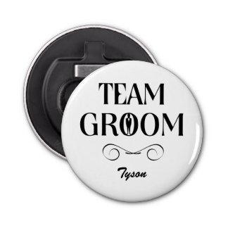 Team Groom - Creative Gifts for Groomsmen Bottle Opener