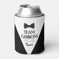 Team Groom - Creative Gifts for Groomsmen Can Cooler
