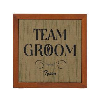 Team Groom - Creative Gifts for Groomsmen Desk Organizer