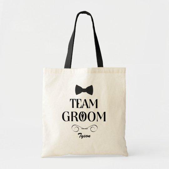 Team Groom Custom Groomsmen Gift Bags