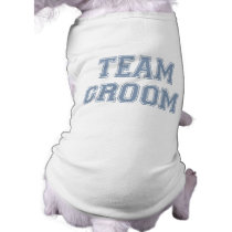 Team Groom dog t-shirt