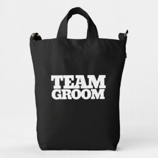 Team Groom Duck Bag
